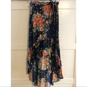 On the Road Floral skirt - Anthropologie